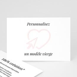 Faire-Part Mariage Personnalisés - Vierge - 0