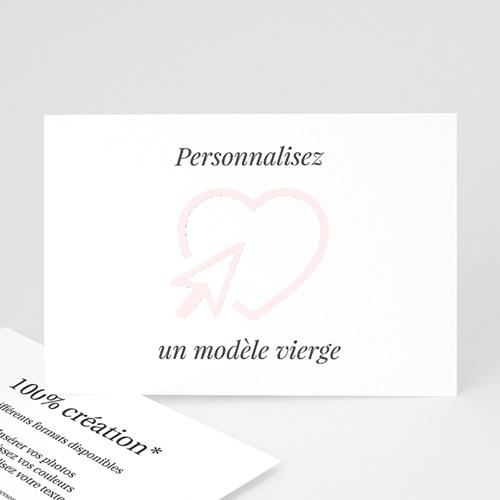 Faire-Part Mariage Personnalisés - Vierge 47573