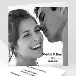 Faire-Part Mariage Personnalisés - Jet de confettis... - 3