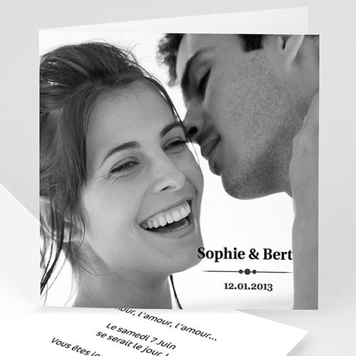 Faire-Part Mariage Personnalisés - Jet de confettis... 4778