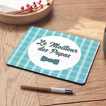 Tapis de souris personnalisé - tapis souris fête pères 2 - 0