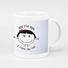 Mug Personnalisé - Le meilleur du monde - 0