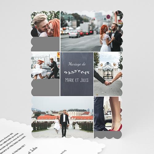 Tous les Remerciements Mariage - L'amour couronné 48063