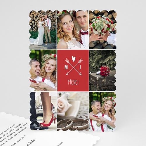 Tous les Remerciements Mariage - Flèche de Cupidon 48087