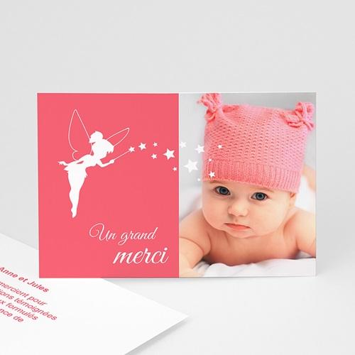 Remerciements Naissance Fille - Petite fée 48145