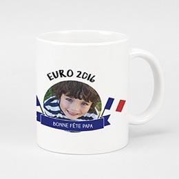 Mug Personnalisé - Euro 2016 - 0
