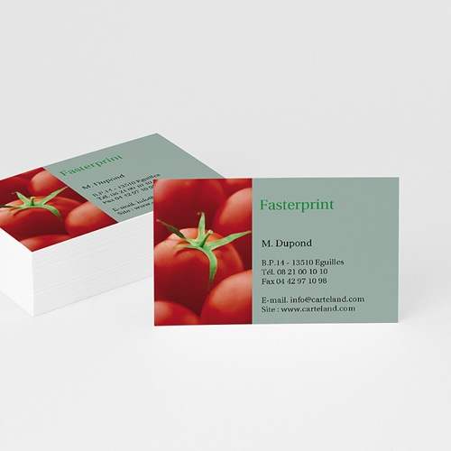Carte de Visite - Légumes bio 4901