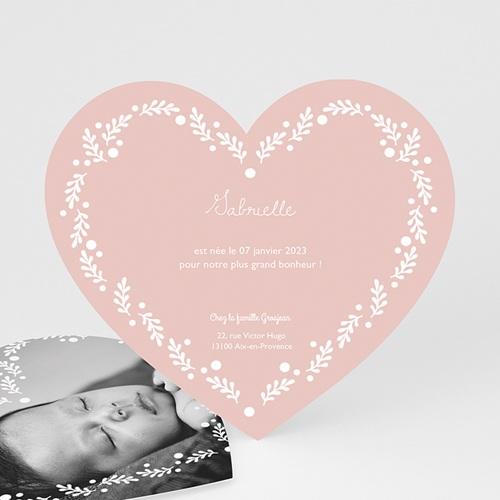 Faire-Part Naissance Fille - Jolie Couronne 49133