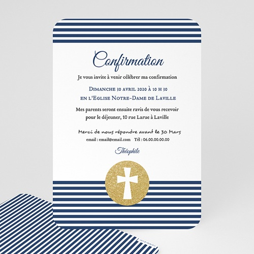 Invitation Confirmation  - Confiance en l'Eternel 49248