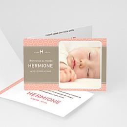 Faire-Part Naissance Fille - Hermione 497