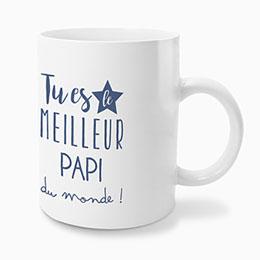 Mug Personnalisé - Super papi - 0