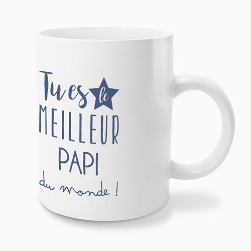 Mug Personnalisé - Super papi 49702