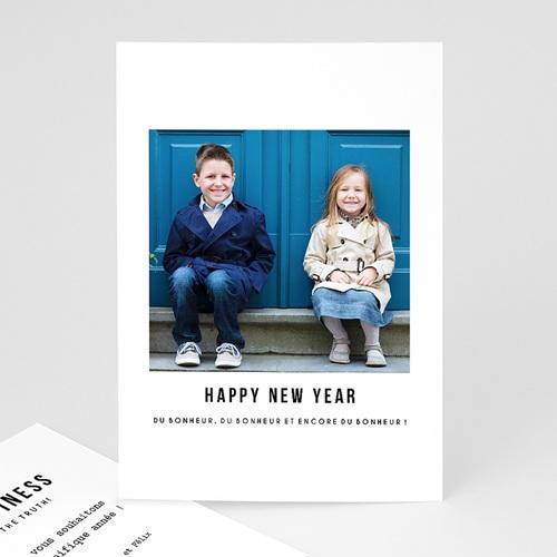 Carte de Voeux famille - Happy ! 49898
