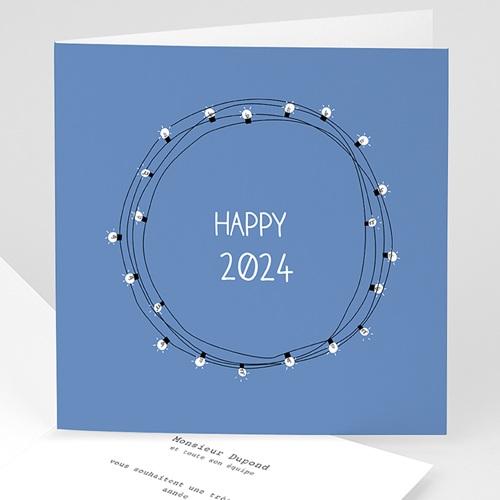 Cartes de Voeux Professionnels - Lumières de Noel 49952