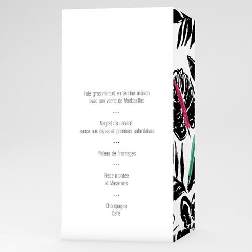 Menu de Mariage - Nature 50600