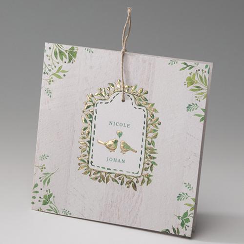 Faire-Part Mariage Traditionnel - Le bonheur des colombes 50809