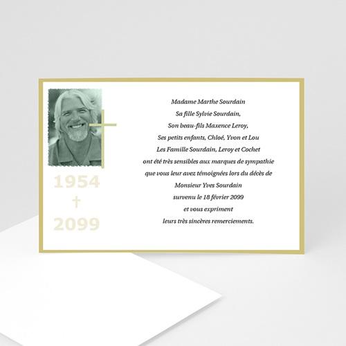 Remerciements Décès Chrétien - Entrez dans l'espérance... 5093