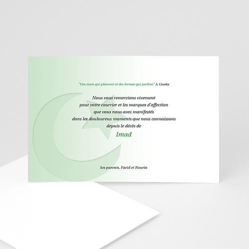 Remerciements Décès Musulman - Shâhâda - 2 5097