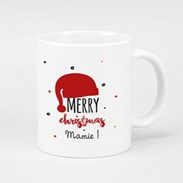 Mug Personnalisé - Bonnet du Père Noel - 0