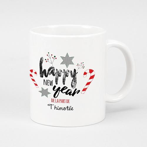 Mug Personnalisé - Sucres d'orges de Noel 51145