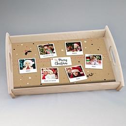 Plateaux personnalisés avec photos - Happy Noël - 0