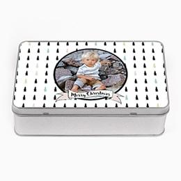 Boîte en métal personnalisée - Sapins & Co - 0