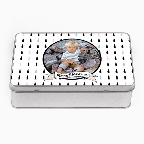 Boîte en métal personnalisée - Sapins & Co 51294