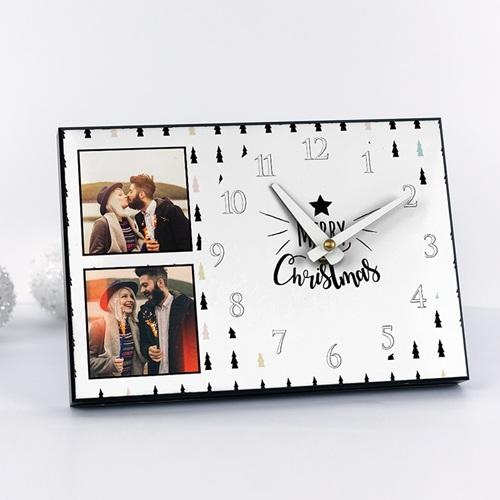 Horloge avec photo - Joyeux Noel 51321