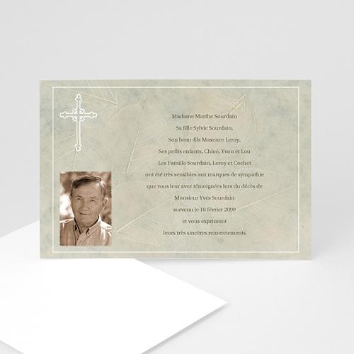 Remerciements Décès Chrétien - Mission 5137