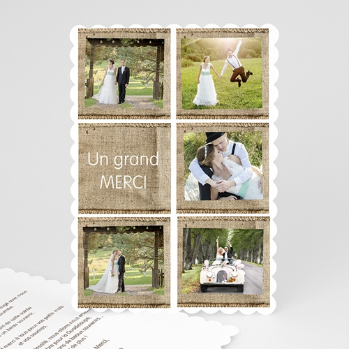 Tous les Remerciements Mariage - A la campagne 51551
