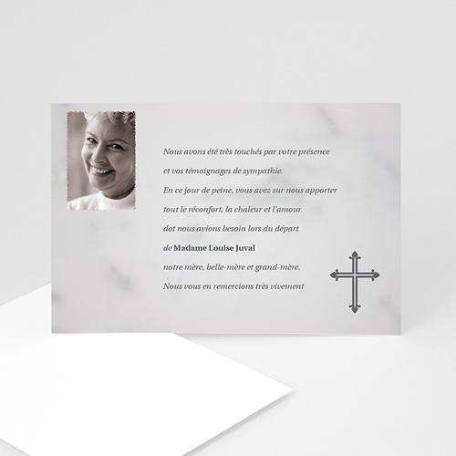 Remerciements Décès Chrétien - Supplice  5165