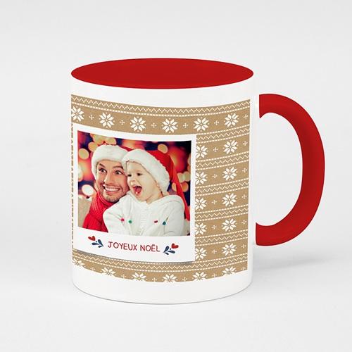 Mug de couleur - Noel Rouge 51651