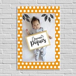 Poster personnalisé - Happy pâques - 0