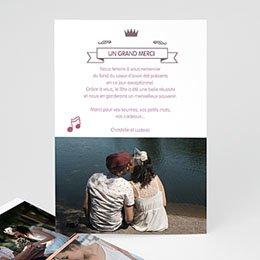 Tous les Remerciements Mariage - Douce Musique - 0