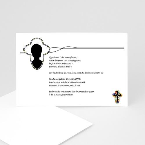 Remerciements Décès Chrétien - Crux  5201
