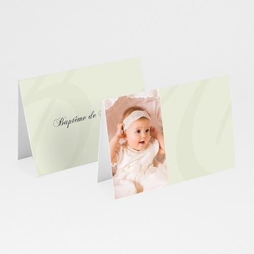 Marque Place Baptême - Invités de Maelys 5865