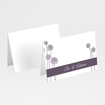 Marque Place Mariage Personnalisés - Mariage en blanc et rose - 3