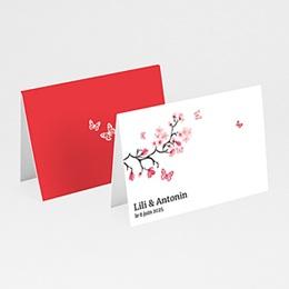 Marque Place Mariage Personnalisés - Fleurs d'amour - 3