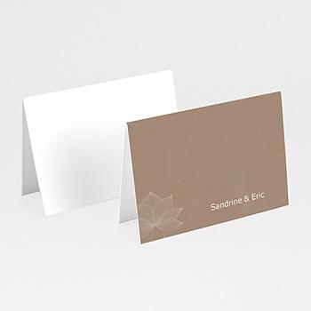 Marque Place Mariage Personnalisés - Elégance chocolat - 3