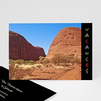 Cartes photo à créer - Portrait - Bandeau noir - 3