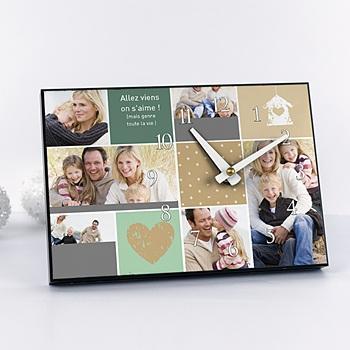 Horloge avec photo - Multi-photos - 2
