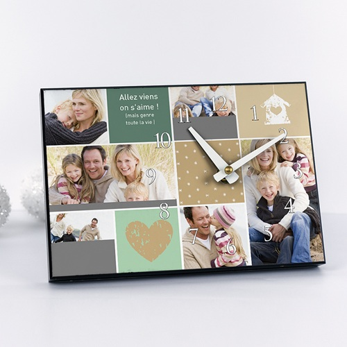 Horloge avec photo - Multi-photos - ECO 6630
