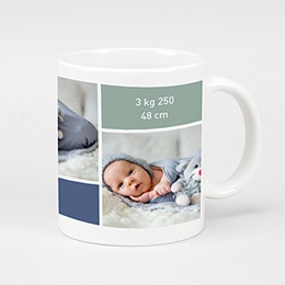 Mug Personnalisé - Instants de bonheur - 3 photos - 2