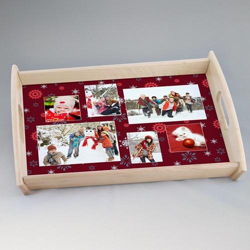 Plateaux personnalisés avec photos - Saveurs de Noël 6740