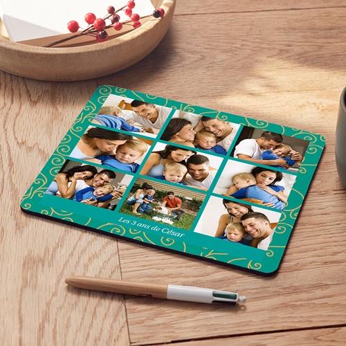 Tapis de souris personnalisé - Arabesques en vues 6810