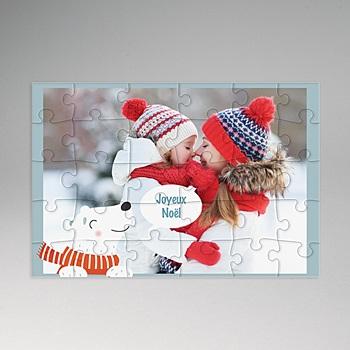 Puzzle bois - Puzzle photo rectangulaire -30 pièces - 2