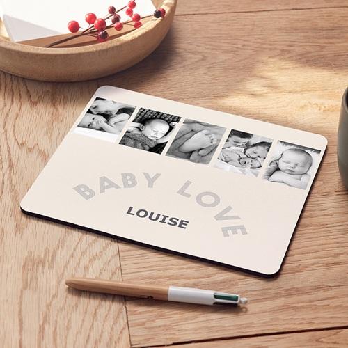 Tapis de souris personnalisé - 5 photos à Croquer 6948