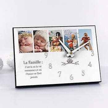 Horloge avec photo - La ronde des photos - 2