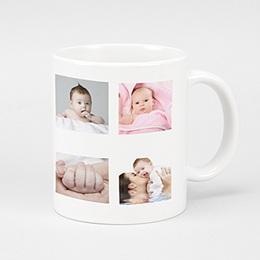 Mug Personnalisé - Dix photos de star - 2