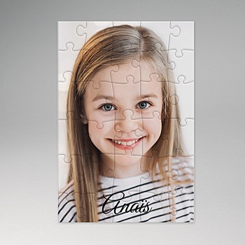 Puzzle bois - Ma création photo - 2